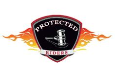 Rector Law Protected Rider motorcyclist logo