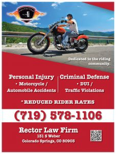 Rector Law Protected Riders poster