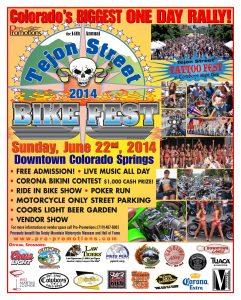 Join us at the 2014 Tejon Bike Fest - June 22nd!