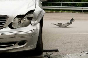 grey car after a fender bender | 10 Mistakes That Can HURT Your Car Accident Claim