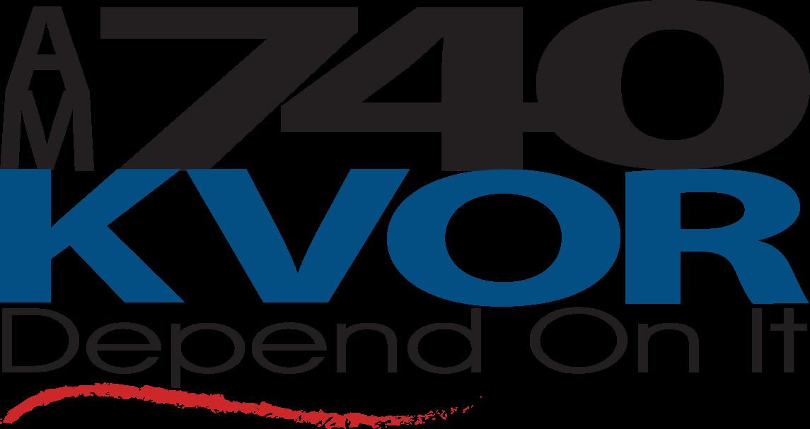 AM 740 KVOR logo