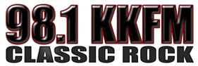 KKFM 98.1 Classic Rock Radio Station Logo