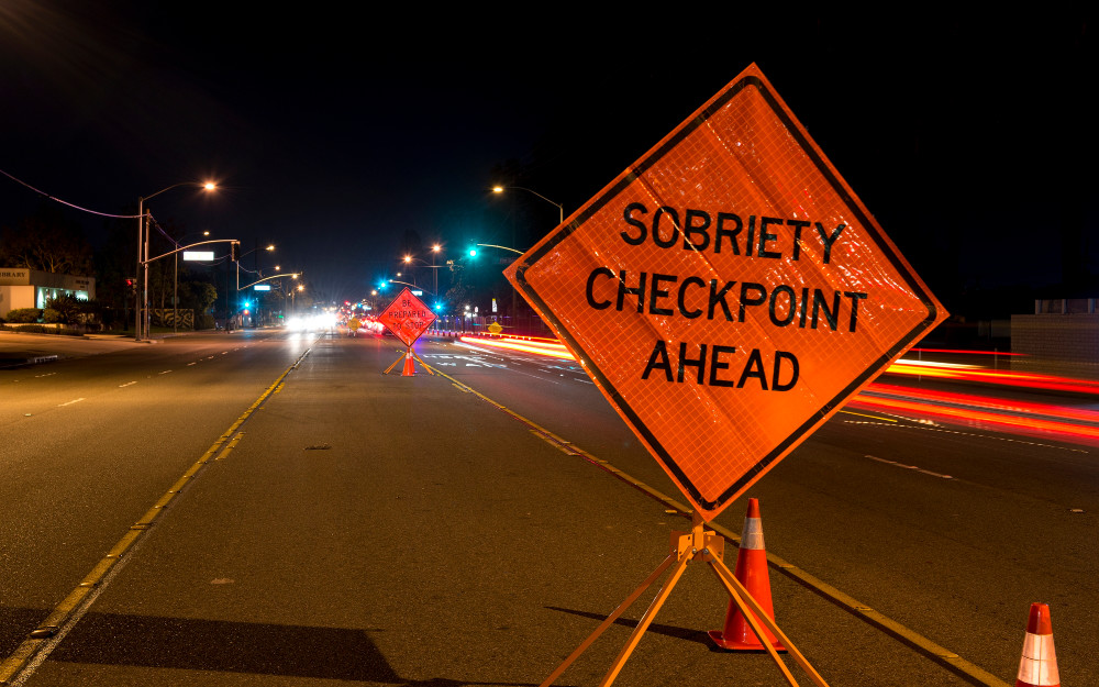 dui sobriety checkpoint sign colorado springs co