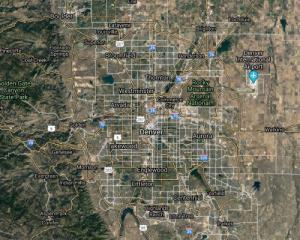 Denver Metro Main Roads