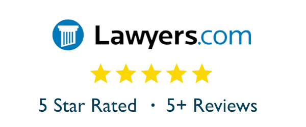 5 Star Rated On Lawyers Com