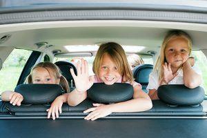 3 Kids In Car Seats