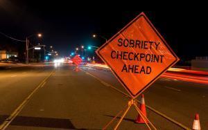 Dui Sobriety Checkpoint Sign Colorado Springs Co