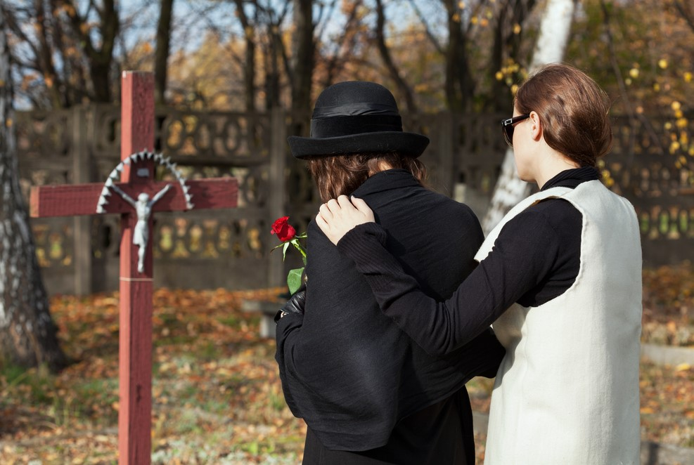 Family Grieving The Loss Of A Loved One Due To A Wrongful Death