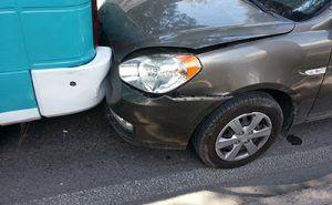 Fender Bender Slow Speed Car Accident