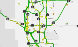 Live Colorado Springs Traffic Flow Data Report And Traffic Accidents