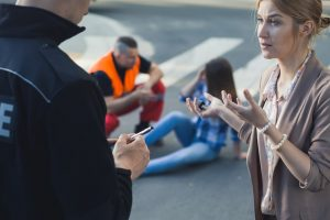Reporting Accident Details To Police