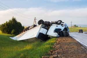 Semi Truck Roll Over Accident In Colorado Springs