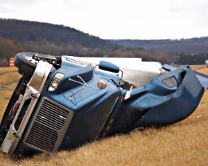 what to do after semi truck accident